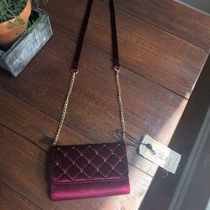 Handbags - NWT Red Velvet Crossbody